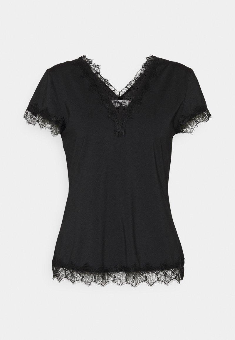 Rosemunde - Print T-shirt - black