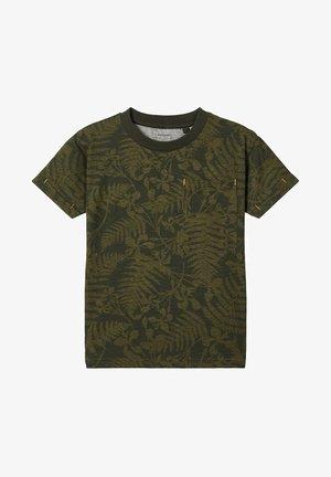 EXOTISCHES BLÄTTER - Camiseta estampada - ivy green