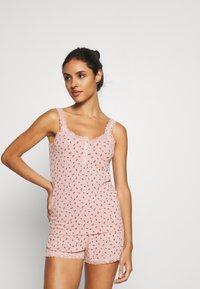 Hunkemöller - SHORT SET - Pyjama set - misty rose - 0