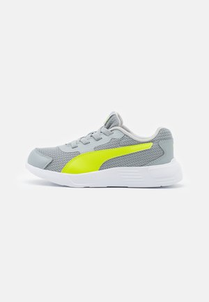 TAPER AC UNISEX - Neutral running shoes - quarry/energy yellow/gray violet