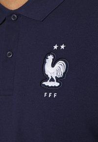 Nike Performance - FRANKREICH FFF - Polo - blackened blue/white - 5