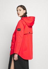 Calvin Klein - MID THIGH - Parka - orange odyssey - 2