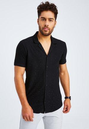 SHORT SLEEVE - Overhemd - schwarz
