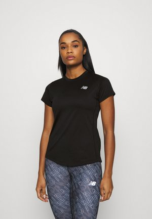 ACCELERATE SHORT SLEEVE - Triko s potiskem - black