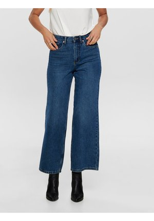 Jean flare - dark blue denim