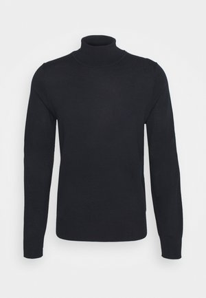ROLLER NECK - Jumper - navy