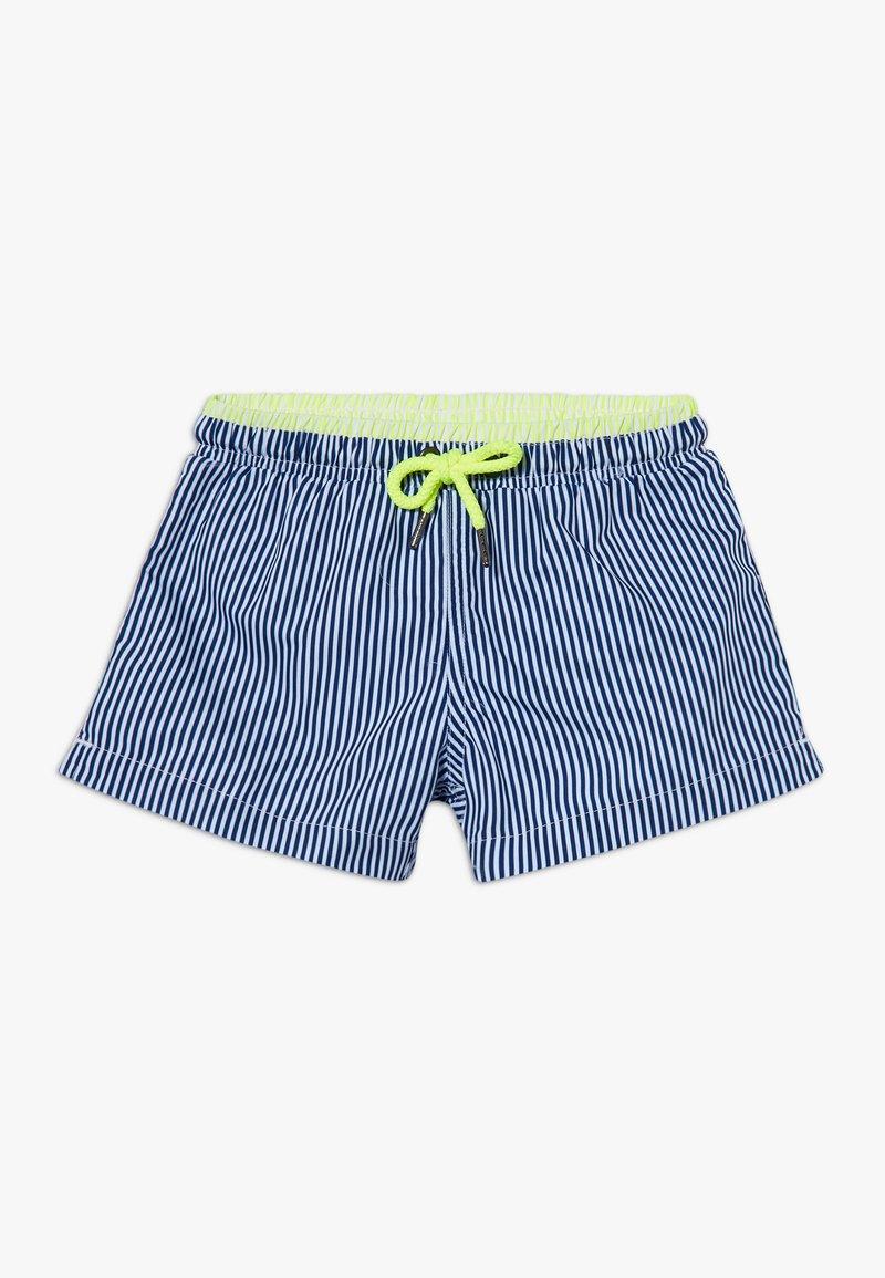 Sunuva - BOYS STRIPE SWIM  - Swimming shorts - navy