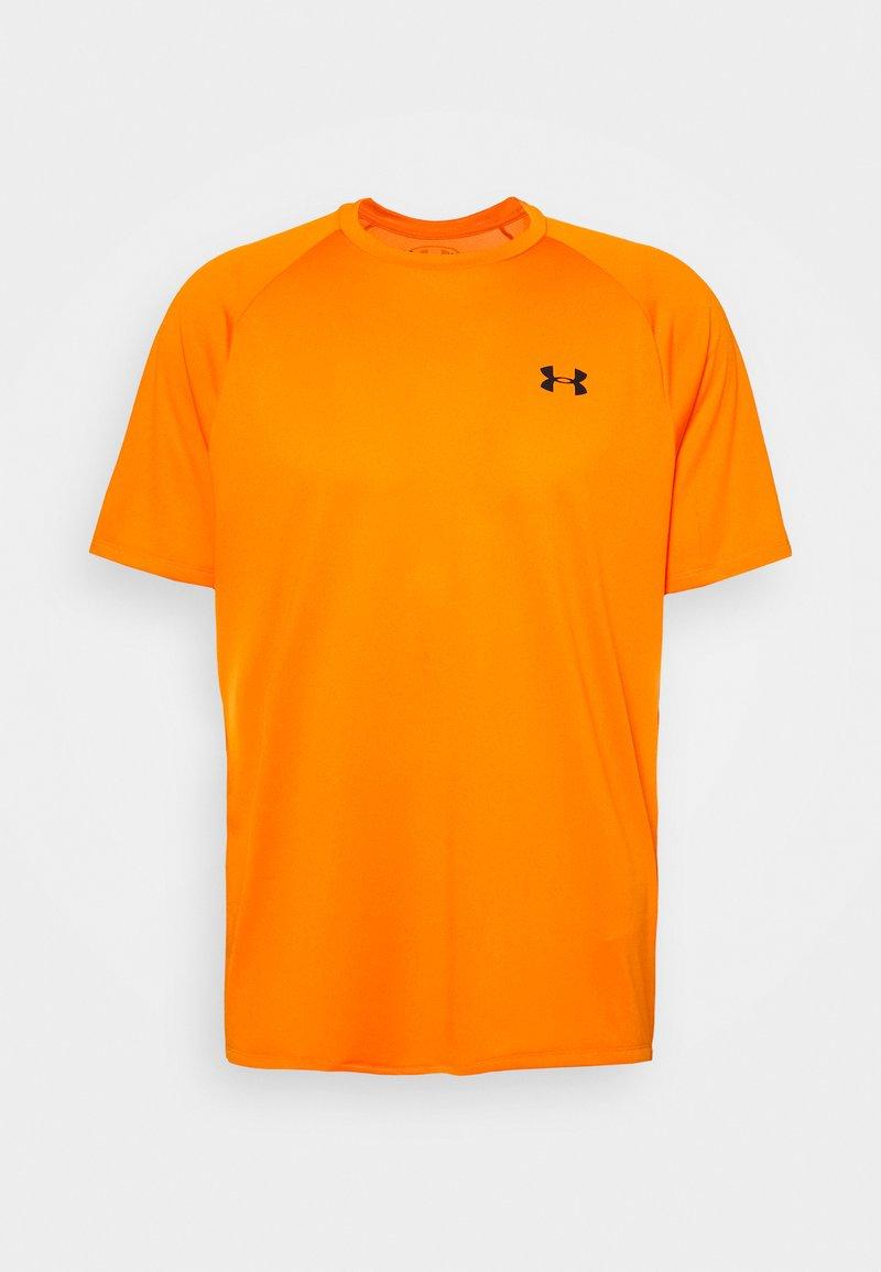 Under Armour - HEATGEAR TECH  - Camiseta estampada - vibe orange