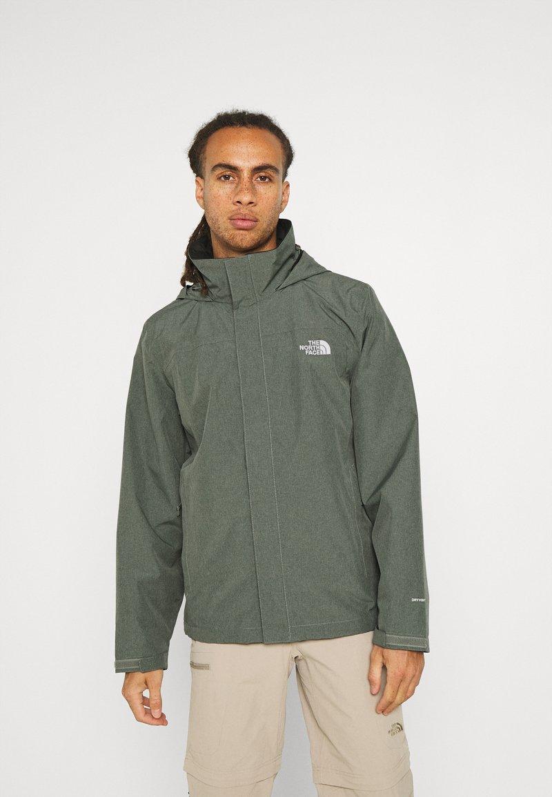 The North Face - SANGRO JACKET - Hardshell jacket - mottled green