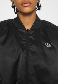 adidas Originals - JACKET - Bomber Jacket - black - 5
