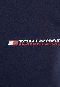 Tommy Hilfiger - JOGGER LOGO - Tracksuit bottoms - sport navy - 5