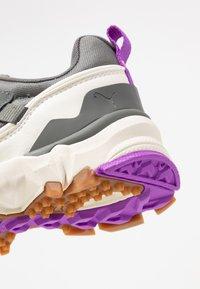 Puma - TRAILFOX MTS-WATER - Sneakers - castlerock/whisper white - 2