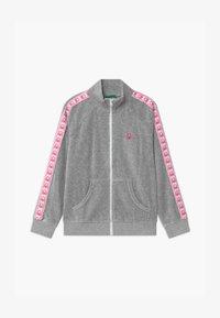 Benetton - BASIC GIRL  - Zip-up hoodie - grey - 0