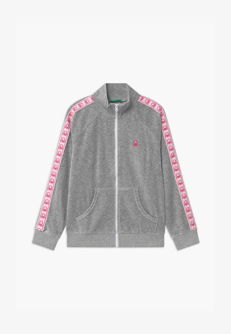 Benetton - BASIC GIRL  - Zip-up hoodie - grey