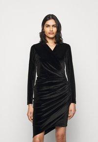HUGO - NELVETY - Cocktail dress / Party dress - black - 0
