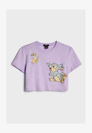 DISNEY'S BAMBI - T-shirts print - mauve