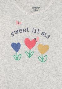 Carter's - FLOWER SET - Print T-shirt - green - 2