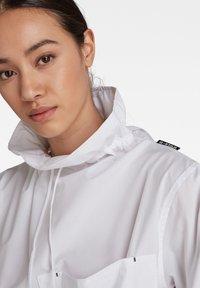 G-Star - LONG SLEEVE MOCL NECK SHIRT - Long sleeved top - white - 3
