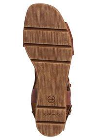 Tamaris - Sandals - nut - 3