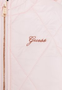 Guess - PADDED HOODED REVERSIBLE BABY - Light jacket - pink sky - 4