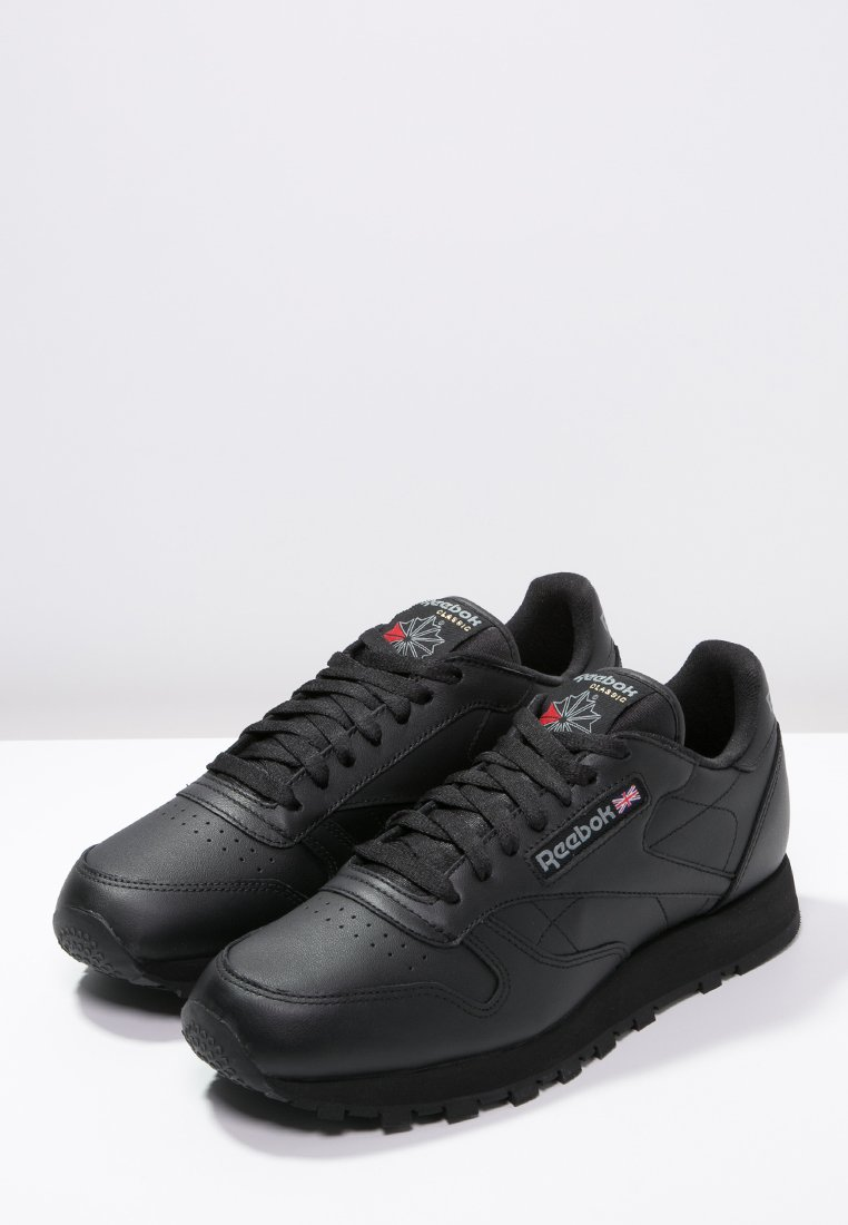 Reebok Classic CLASSIC LEATHER LOWCUT DESIGN SHOES Sneaker low black/schwarz