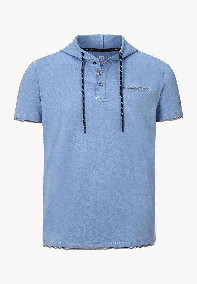OFFE - Print T-shirt - blau melange