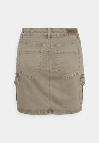ONLY - ONLMISSOURI LIFE SKIRT - Mini skirt - covert green - 1
