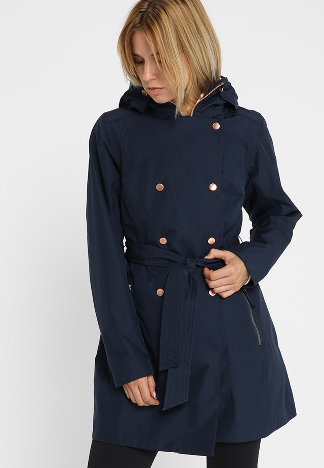 WELSEY TRENCH - Trench - navy