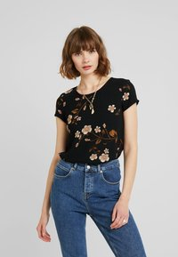 Vero Moda - VMCALLIE BOCA - Blouse - black - 0