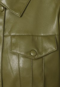 comma - Faux leather jacket - deep green - 6