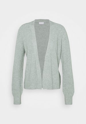 VIRIL OPEN CARDIGAN - Cardigan - green milieu