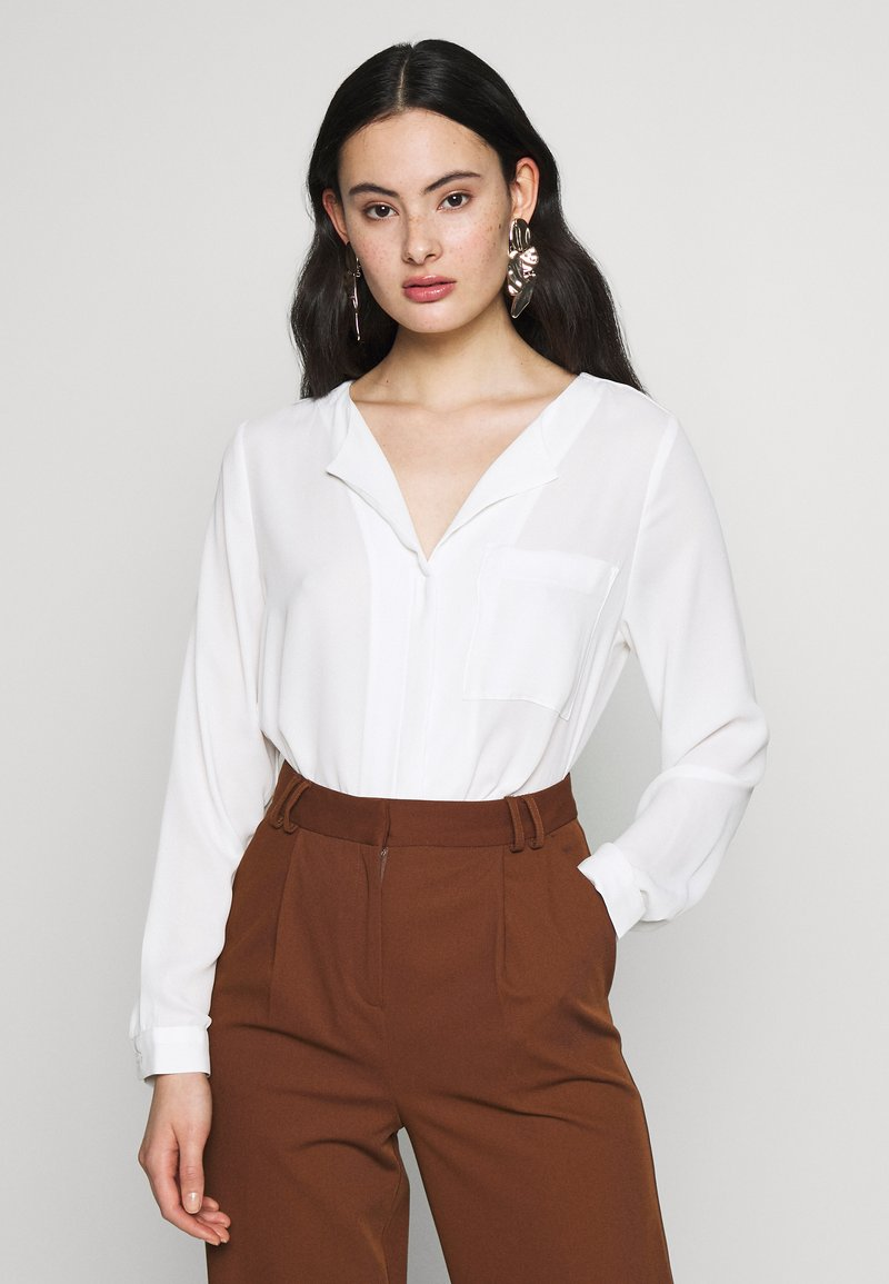 Selected Femme - SLFDYNELLA - Bluser - creme