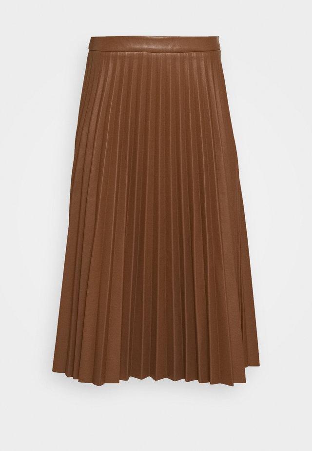 A-line skirt - bison