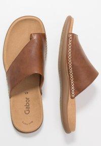 Gabor - T-bar sandals - peanut - 2