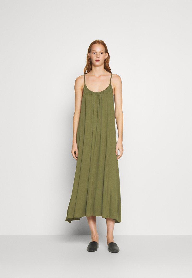 Zign - Jersey dress - olive night