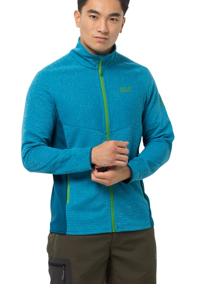 ACTIVE TONGARI  - Fleece jacket - blue jewel