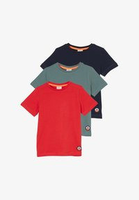 navy/olive/red
