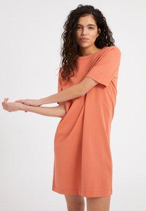 KLEAA - Jersey dress - burned mandarin