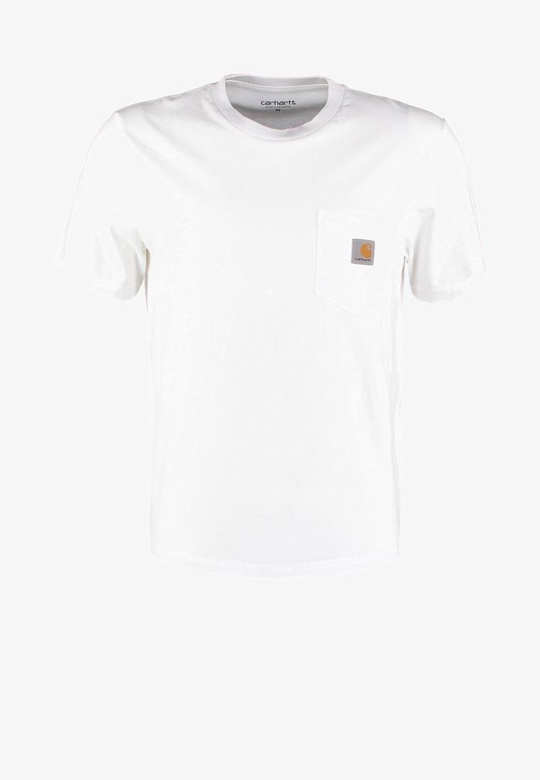 educar Consulado Rascacielos  Carhartt WIP Camiseta básica - white/blanco - Zalando.es