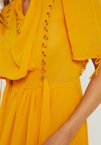 Topshop - EYETLET DETAIL COWL MIDI - Day dress - colour - 6