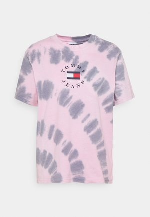 TIE DYE TEE - Print T-shirt - pink