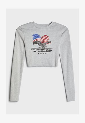 MIT PATENT - Long sleeved top - light grey