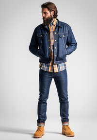 Lee - TECHNICAL RIDER - Denim jacket - grey - 1