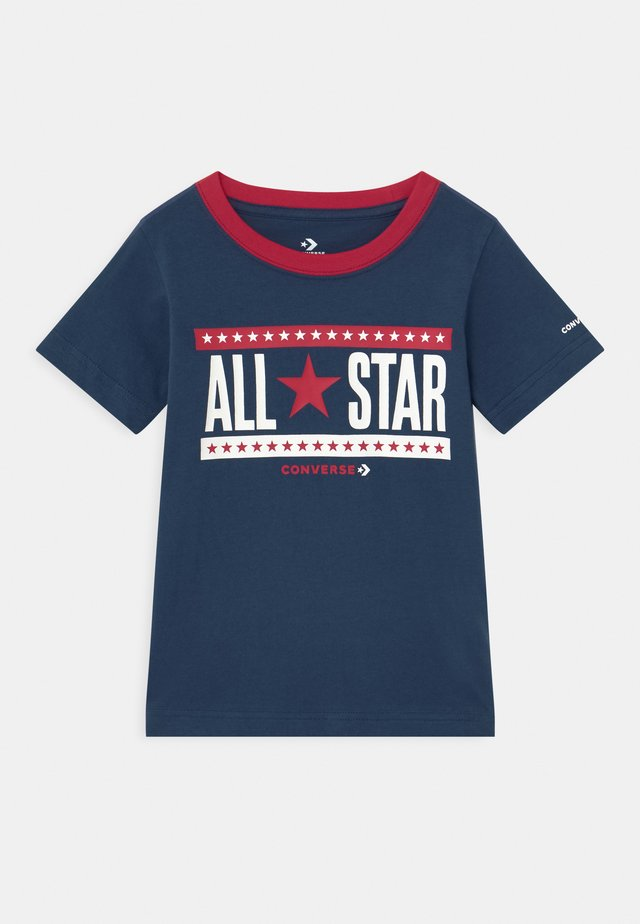STARS AND STRIPES - Print T-shirt - navy