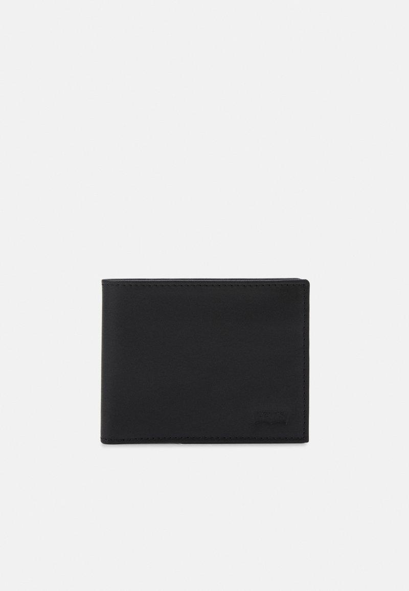 Levi's® - CASUAL CLASSICS HUNTE COIN BIFOLD BATWIN - Plånbok - regular black
