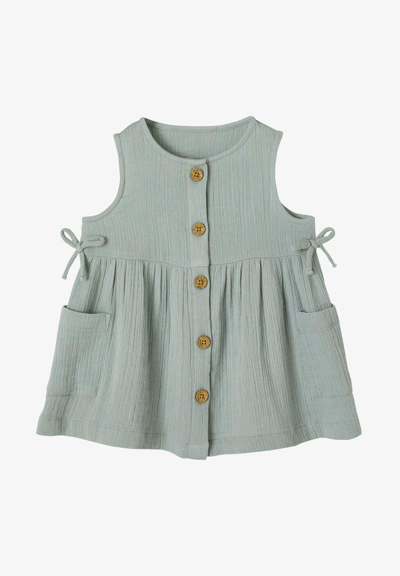 Vertbaudet - Jersey dress - graugrün