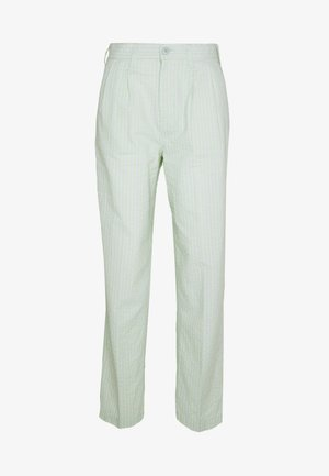 HELM PLEATED PANT - Trousers - seafoam