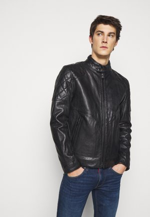 LIMOS - Leather jacket - black