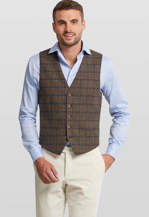 Suit waistcoat - brown