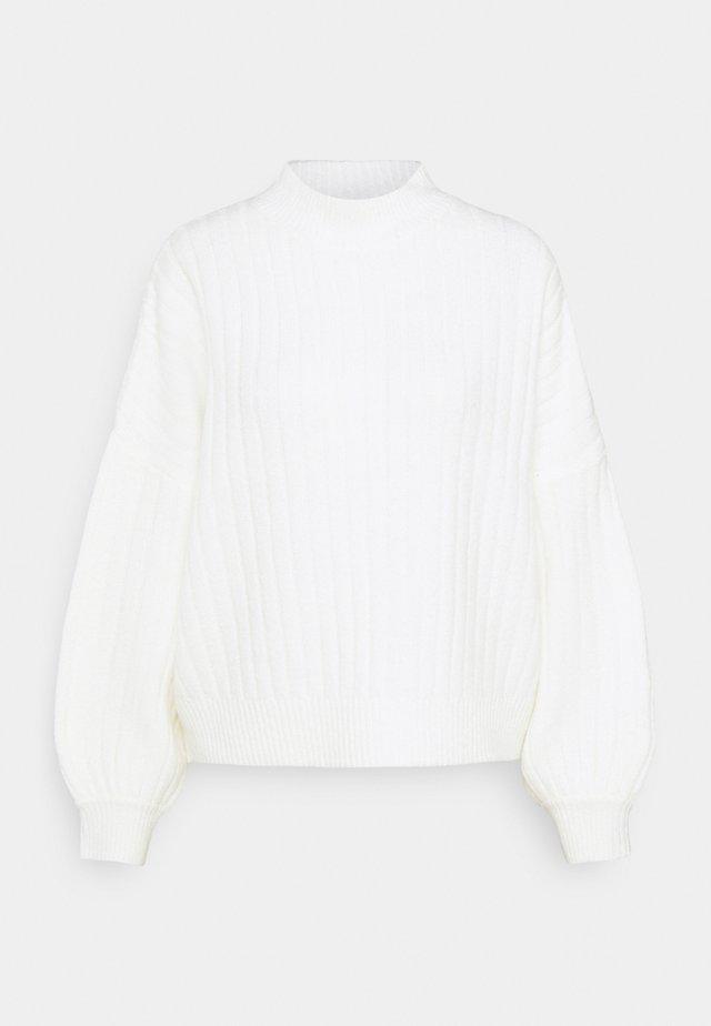 Strikpullover /Striktrøjer - off-white